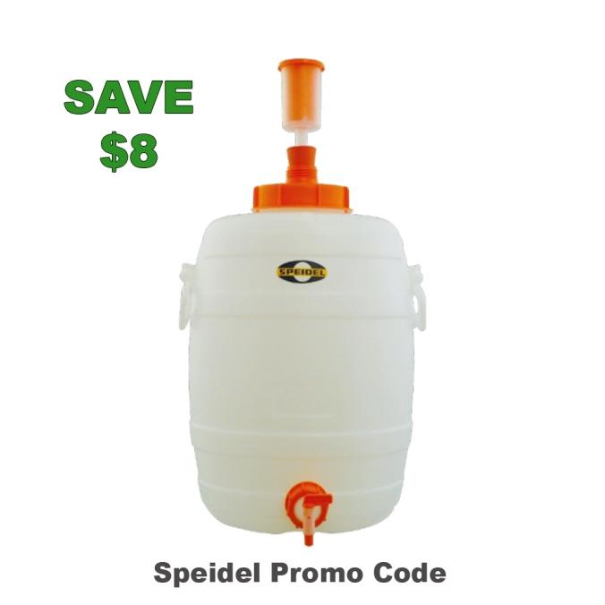 Save $8 On a Speidel Homebrewing Fermenter