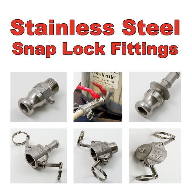 Best Price On Stainless Steel Snaplock Fittings
