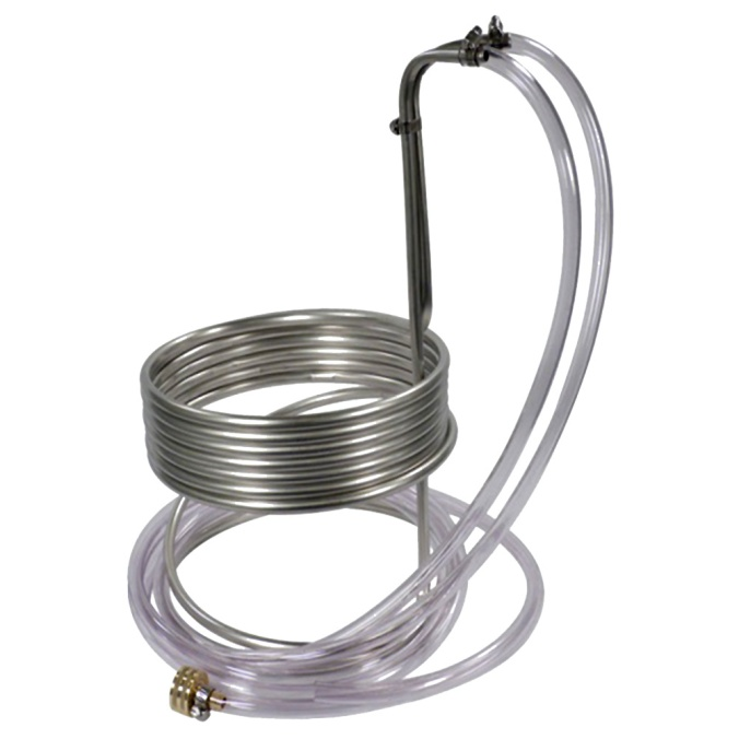 Save $8 On A Stainless Steel Home Brewing Immersion Wort Chiller