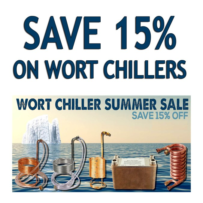 More Beer Promo Code for 15% Off Wort Chillers! #homebrew #homebrewing