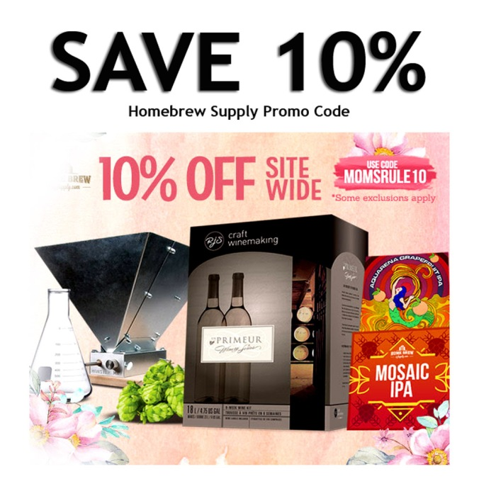 Save 10% Off Your Home Brewing Purchase - HomebrewSupply.com Coupon Code