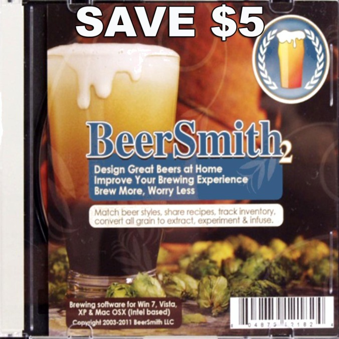 Save $5 On Beer Smith 2 Home Brewing Software #homebrew #homebrewing #software