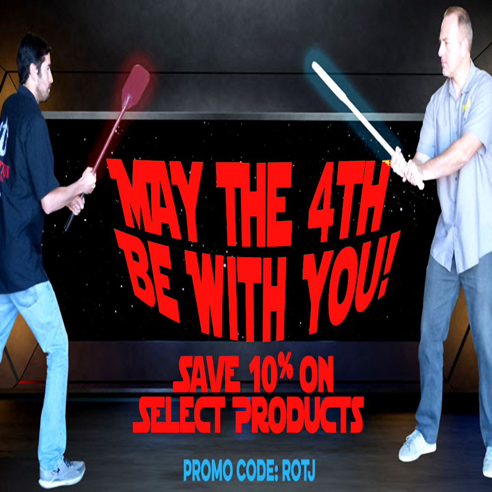 May The 4th Be With You Today! Use The Force With This