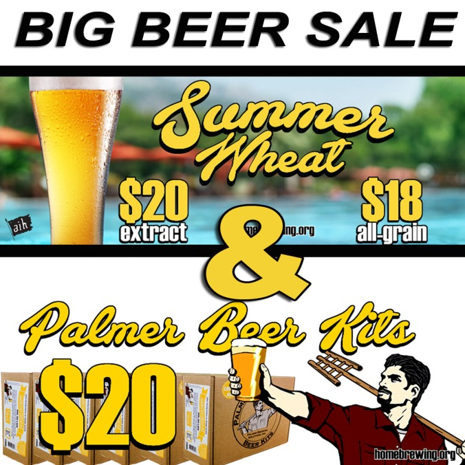 Just $20 For Palmer Beer Kits #homebrew #homebrewing #palmer #beer #kits #recipe #ingredient #homebrewer #extract #allgrain