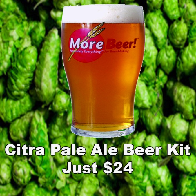 Get a Citra Pale Ale 5 Gallon Beer Kit for Just $25