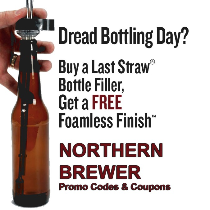 Get a Free Foamless Finish Bottle Filler Tool with This Northern Brewer Promo Code