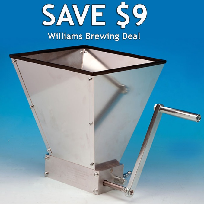 Malt Muncher Grain Mill For Just $85