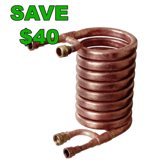 Save $40 On A Convoluted Wort Chiller