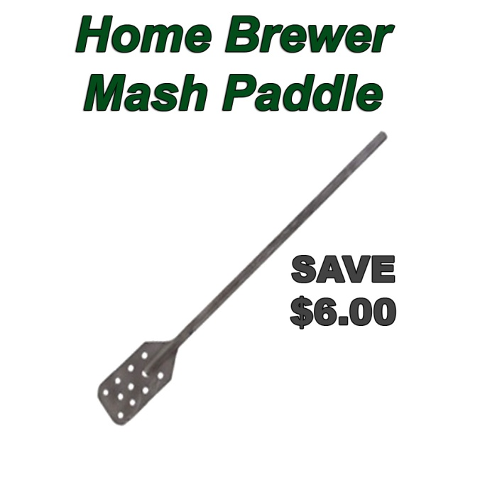 Stainless Steel Home Beer Brewing Mash Paddle