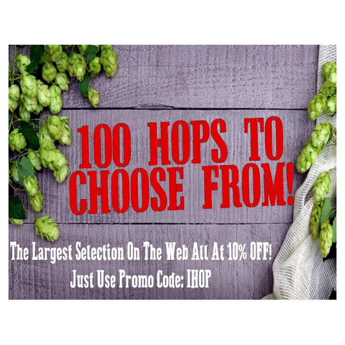 Save 10% On You Hops