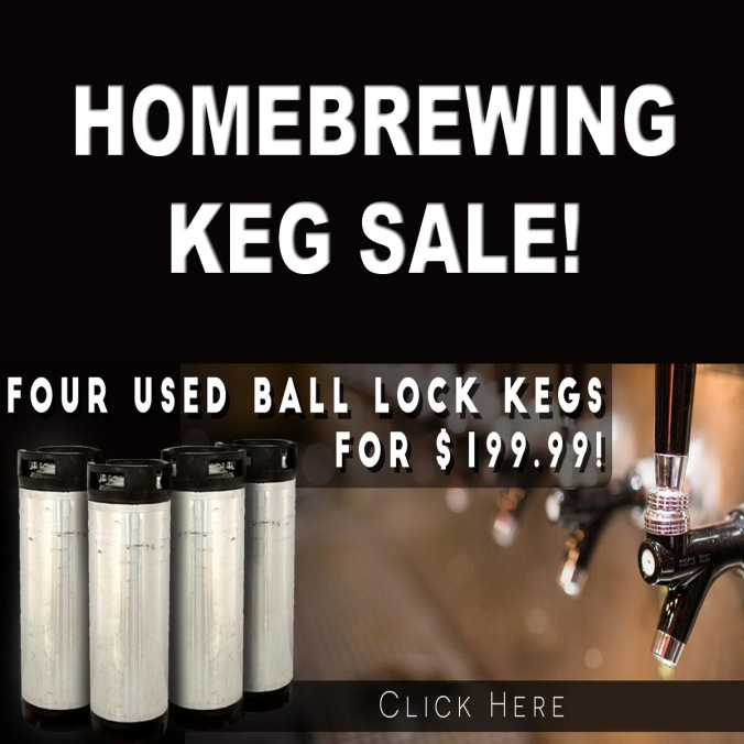 Get 4 Ball Lock Kegs for $199 + Free Shipping!