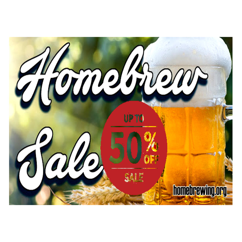 Save Up To 50 During The Summer Time Homebrew Sale