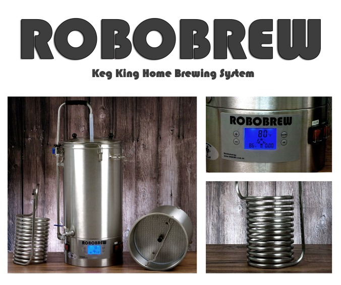 The Keg King Robobrew Home Beer Brewing System