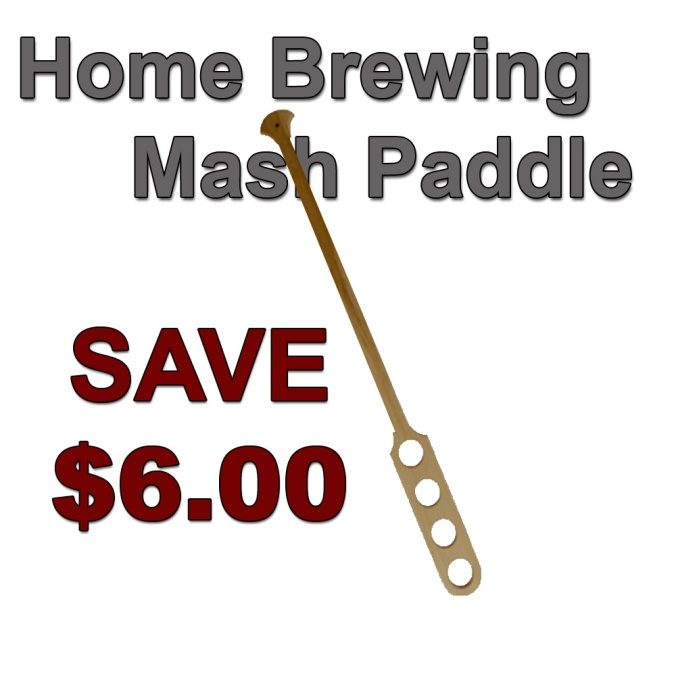 Save Yourself $6 On A New Homebrewing Mash Paddle