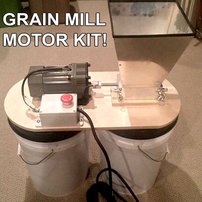 Home Brewing Grain Mill Motor Kit