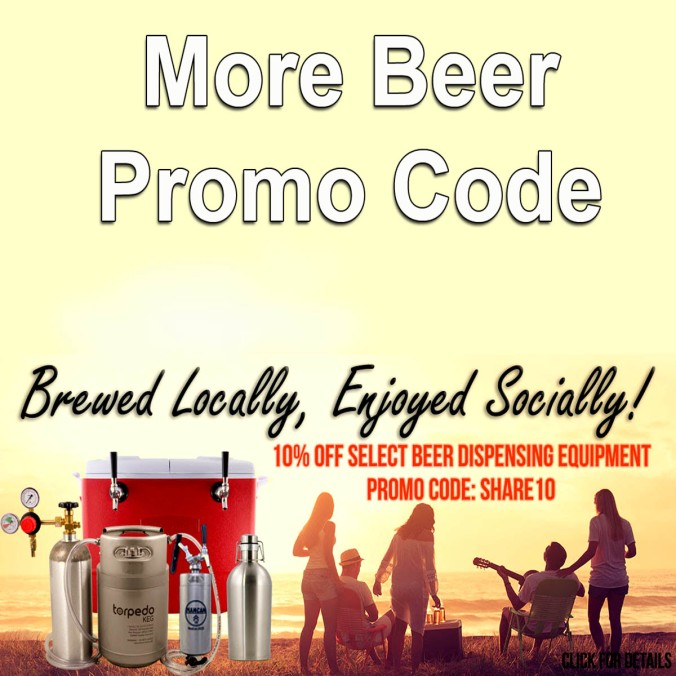 Save 10% At MoreBeer.com On Over 50 Home Brewing Items