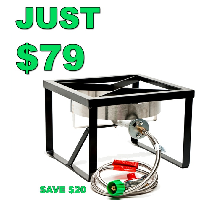 Get a new Home Brewing Burner and Stand For Just $79