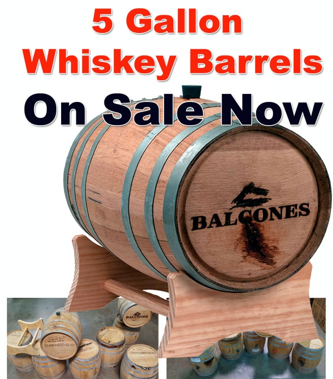 Save $10 On 5 Gallon Oak Home Brewing Barrels!