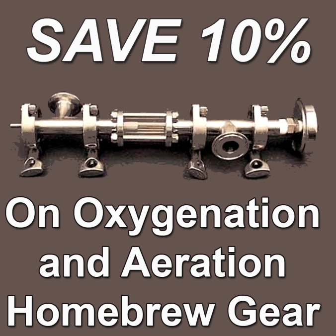 Save 10% On Select Home Brewing Aeration and Wort Oxygenation Products With This More Beer Coupon Code