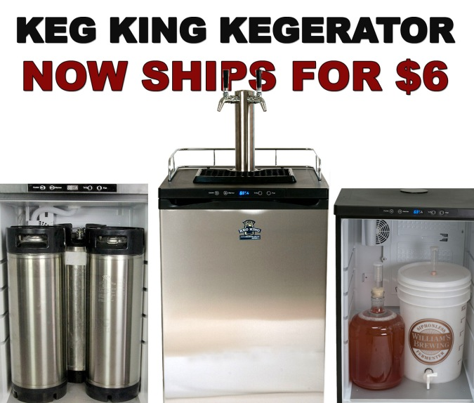 New Keg King Kegerator Ships for Just $6.99