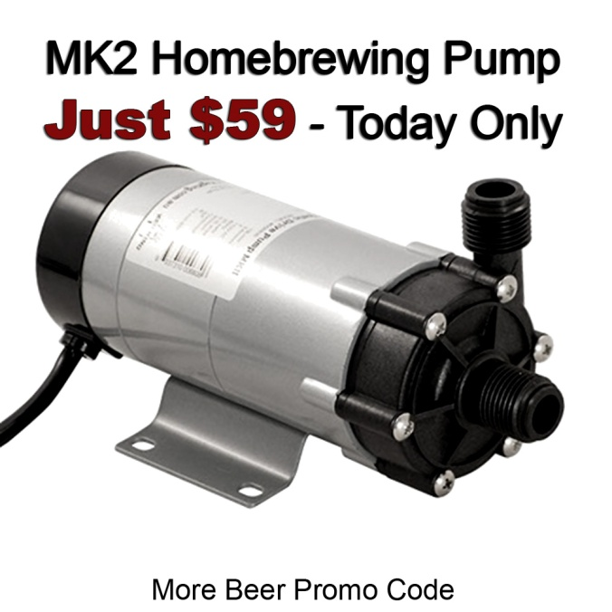 Get a MK2 Home Brewing Pump for Just $59.99 Plus Free Shipping