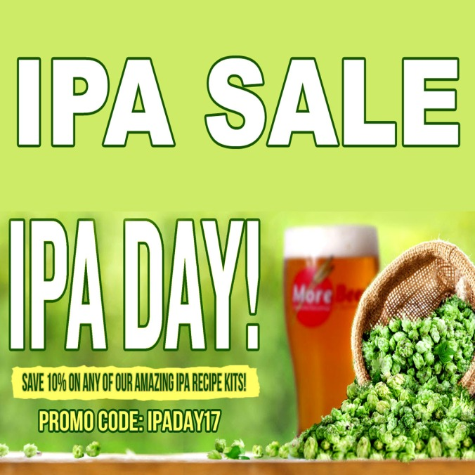Save 10% On All IPA Home Brewing Kits