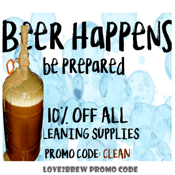 Save 10% On Your Home Brewing Cleaners with this Love2Brew Coupon Code
