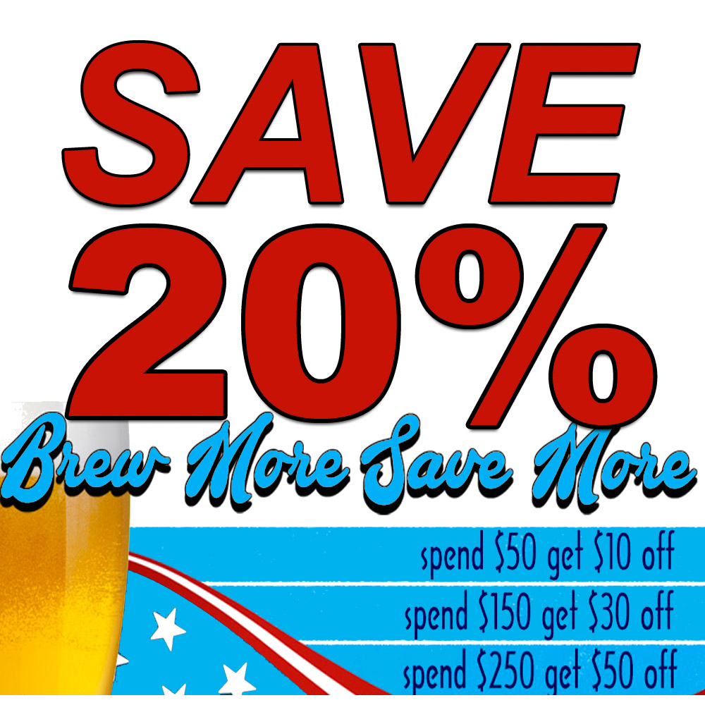 Save 20 On Your Next Home Brewing Purchase Homebrewing Deal
