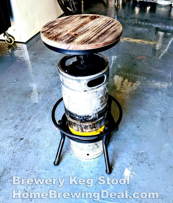 Brewery Bar Stool Homebrewing Deal