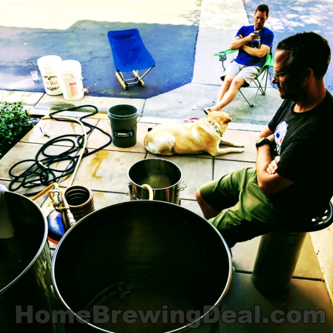 Home Brewing Day