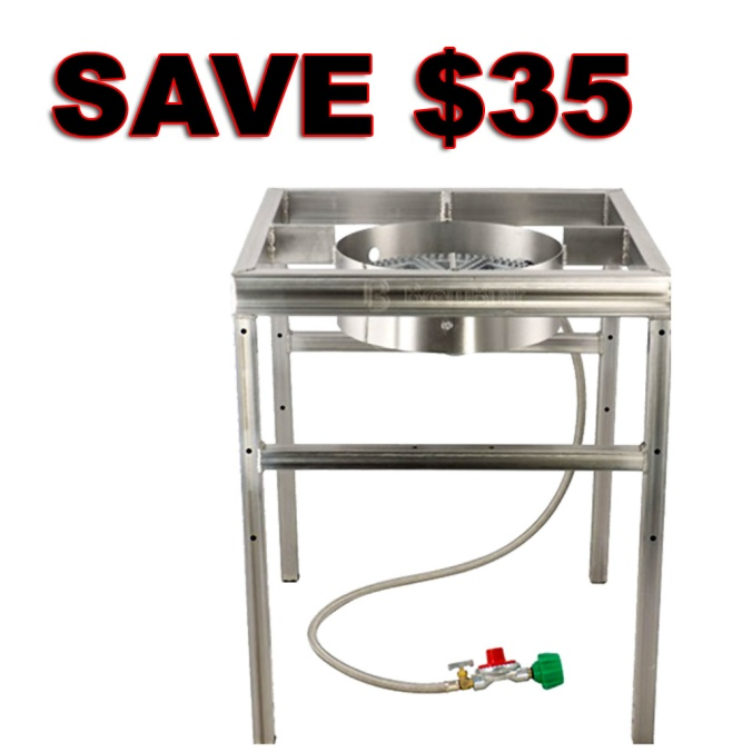 Save $35 On A More Beer Stainless Steel Home Brewing Burner Stand
