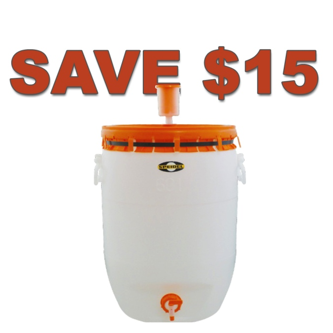 MoreBeer.com Promo Code For $15 Off A Speidel Fermenter #homebrew #homebrewing #speidel #fermenter