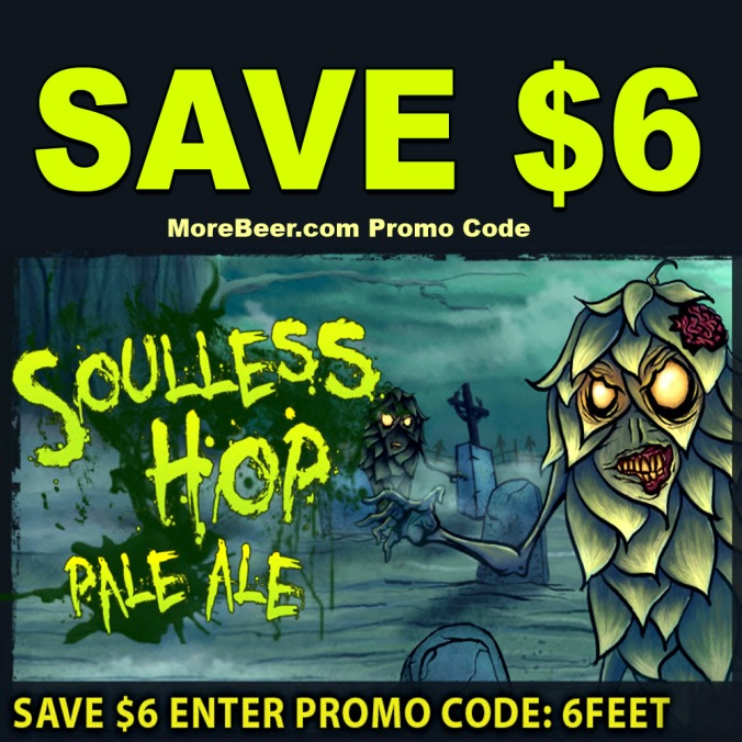 Save $6 Per Zombie Dust Home Brewing Beer Recipe Kit #zombiedust #zombie #dust #clone #recipe #kit #homebrew