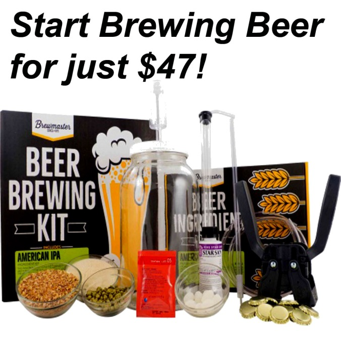 Start Home Beer Brewing for Just $47