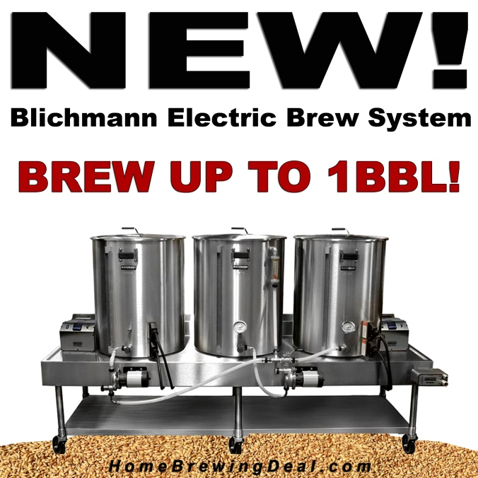New Blichmann Electric Home Brewing System