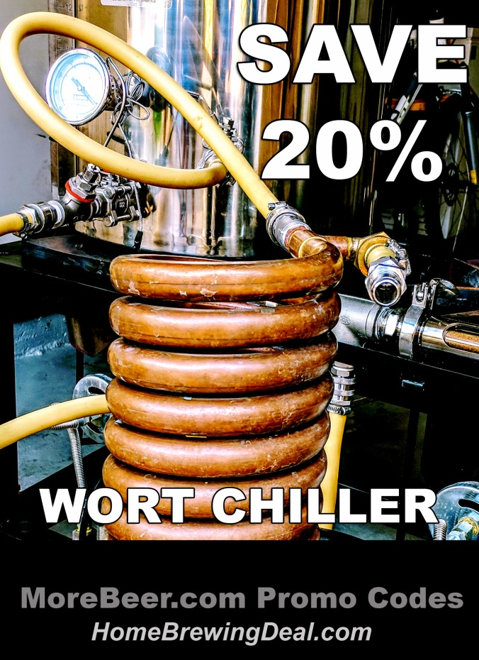 More Beer Promo Code Home Brewing Counterflow Wort Chiller