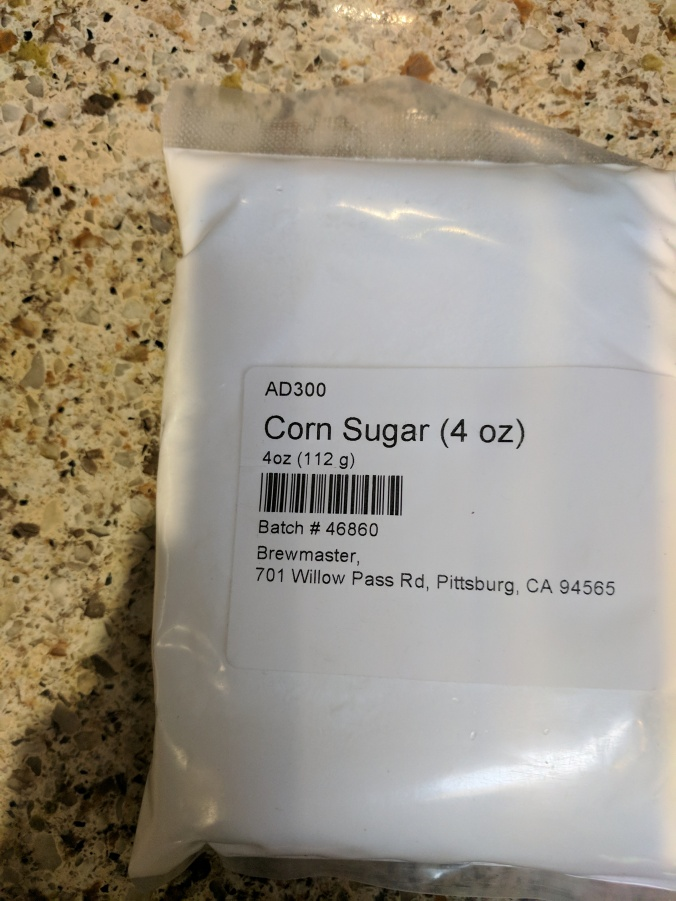 Corn Sugar - Dextrose for making cider at home