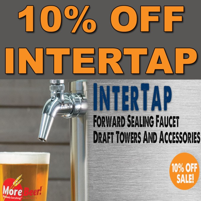 Save 10% On InterTap Draft Beer Items With This MoreBeer.com Promo Codes