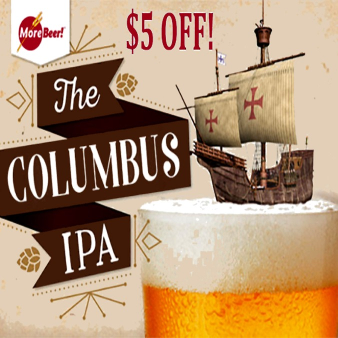 Save $5 On Columbus IPA Beer Kits Today Only