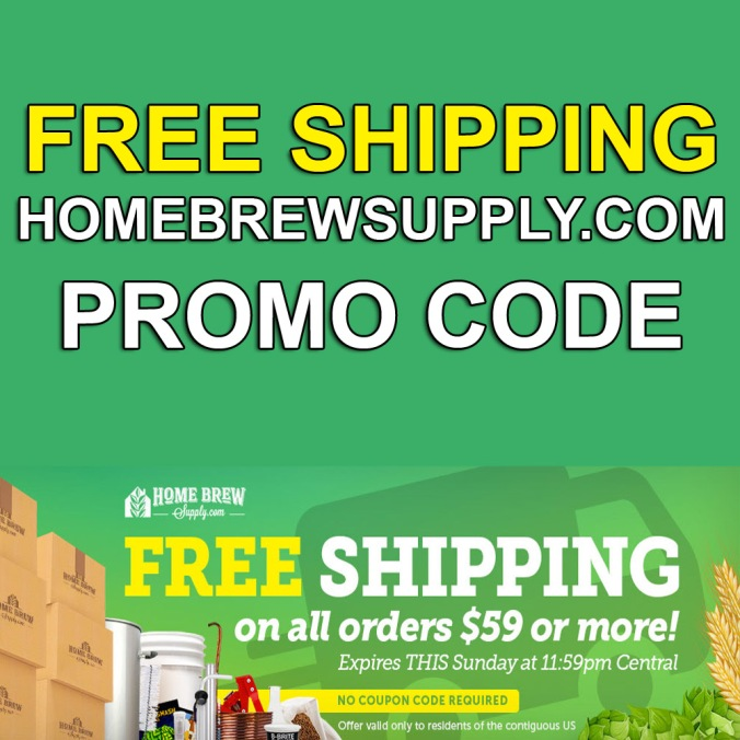 Free Shipping Promo Code for HomebrewSupply.com