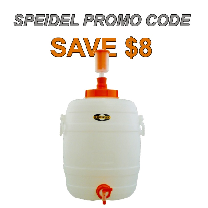Save $8 on a 7.9 Gallon Speidel Home Brewing Fermenter