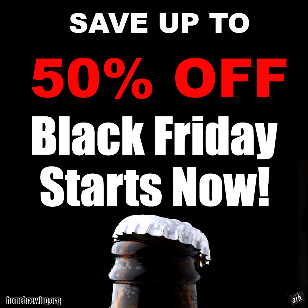 Black Friday Home Brewing Sale Save Up To 50