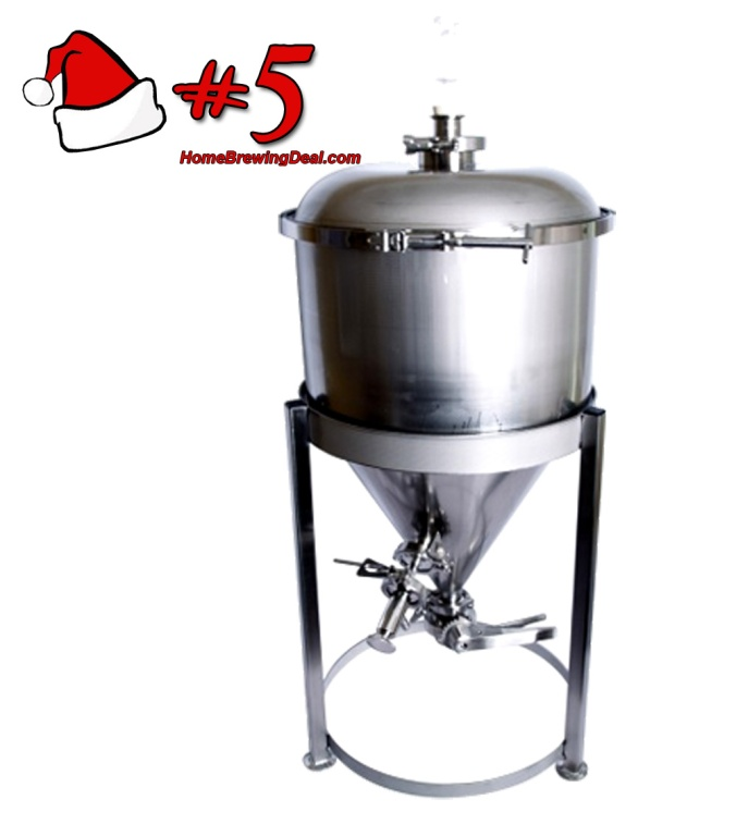 Best Holiday Gifts For Homebrewers - A Stainless Steel Conical Fermenter From More Beer