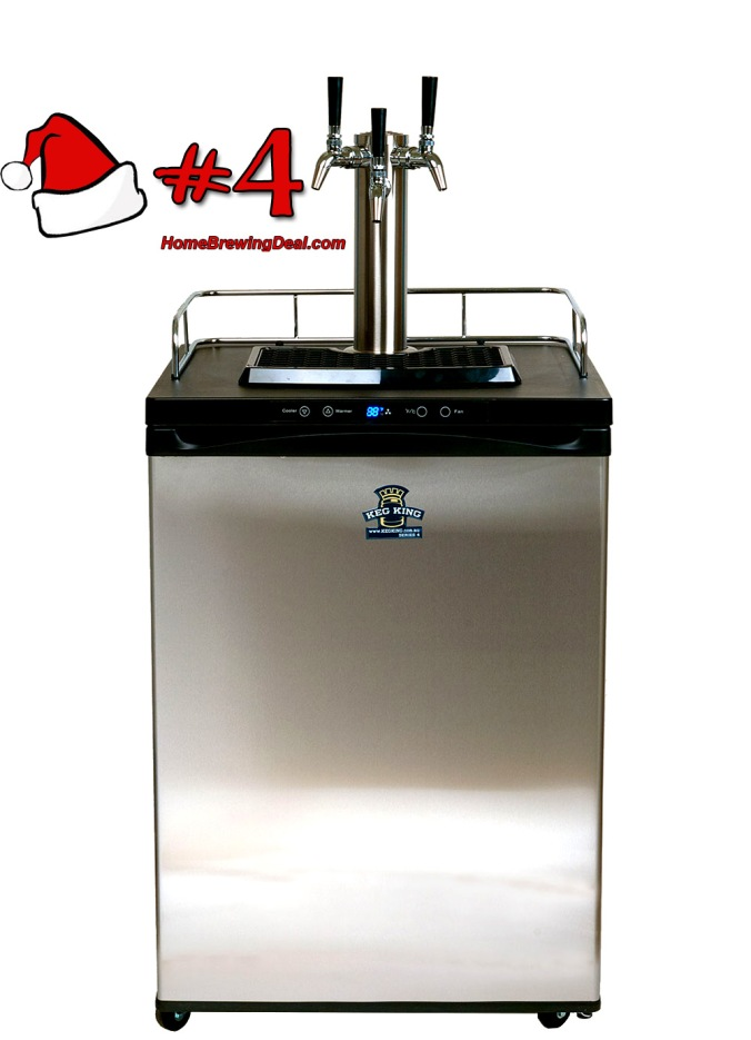 Best Homebrew Gift Idea for 2017 The Homebrew Kegerator By Keg King