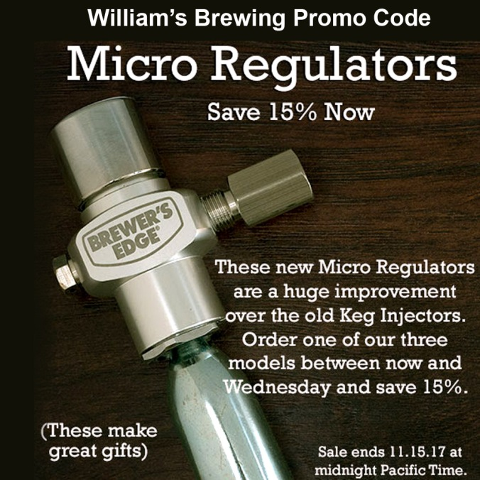 Save 15% on Mico CO2 Regulators for Draft Beer Systems #draft #beer #micro #co2 #regulator