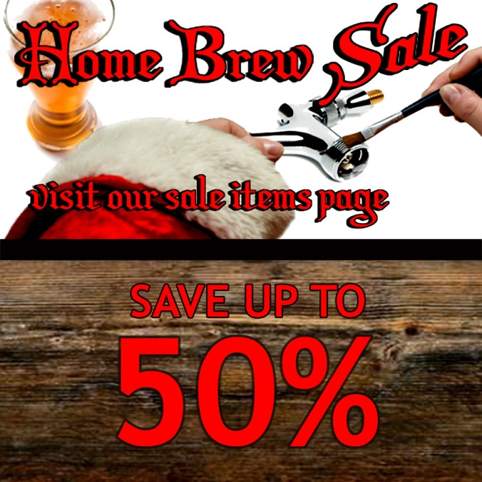 Save Up To 50% During The Holiday Homebrew Sale #holiday #homebrewing #sale #homebrew