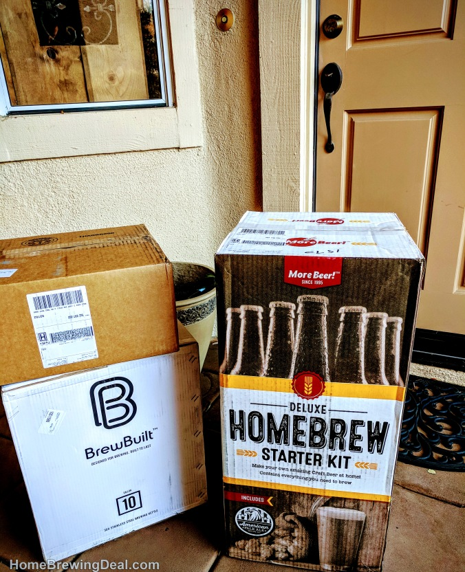 Home Brewing Delivery