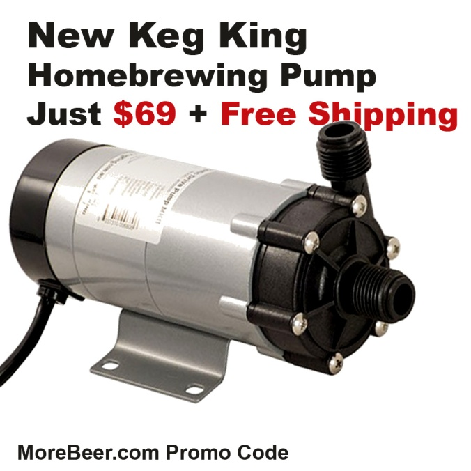 Get a New Home Brewing Pump for Just $69 and Free Shipping