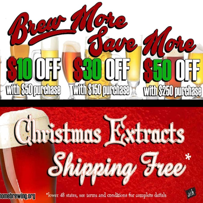 Save 20% On Your Purchase at Adventures in Homebrewing! Plus Free Shipping On Select Items, No Promo Code Needed!