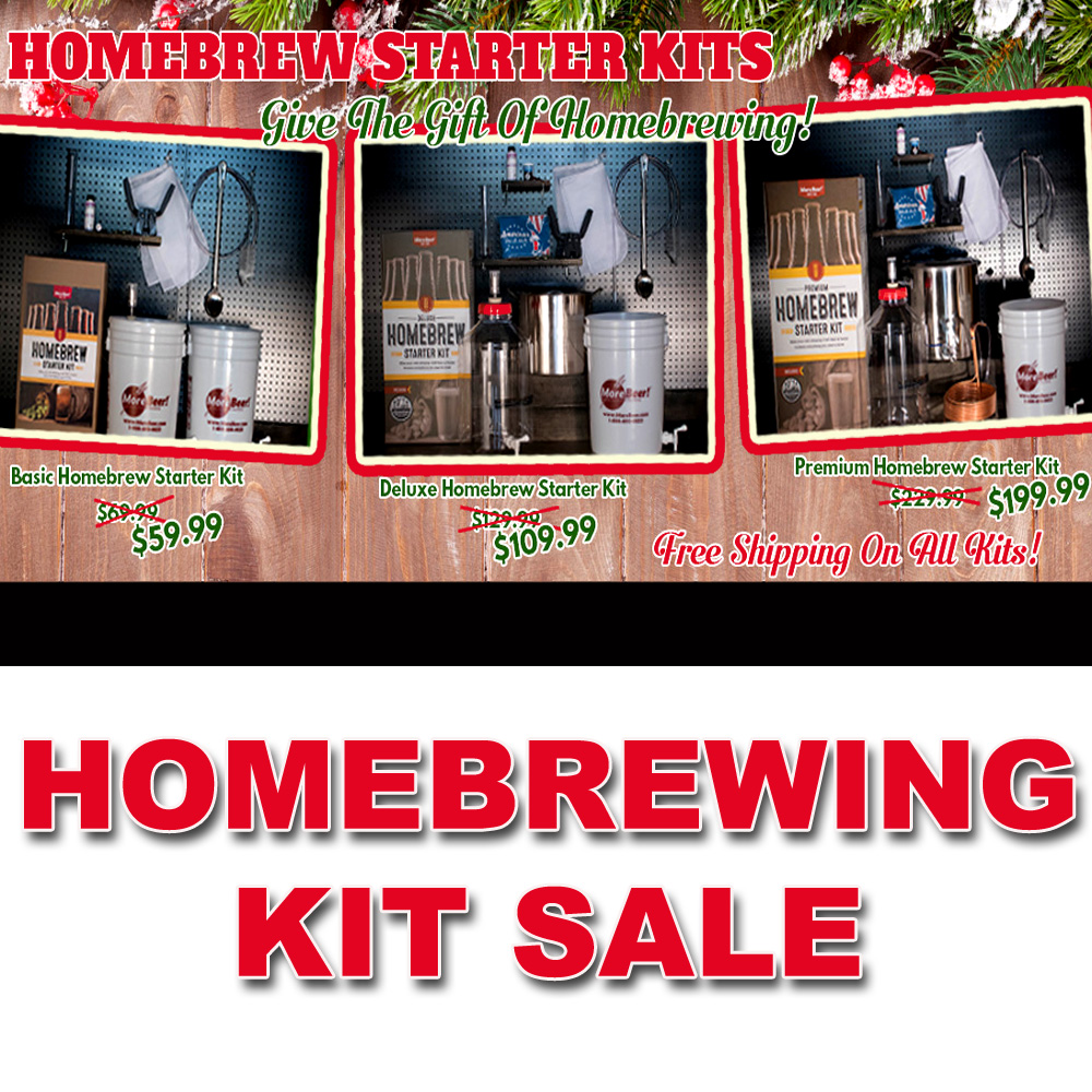 You can't have too much homebrewing gear! We stock everything you need for your home brew setup. Take your recipe from brew kettle to beer keg with our wide selection of brewing equipment.